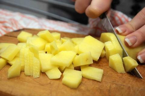 patate a dadini