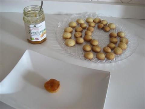 aggiungere un pò di marmellata