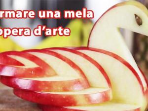 Trasformare una mela in un cigno