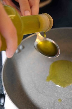 Olio in padella